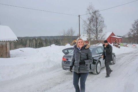 NORGES TRYGGHET: Justisminister Sylvi Listhaug understreket verdien av å få et beredskapssenter for hele landet her på Taraldrud.