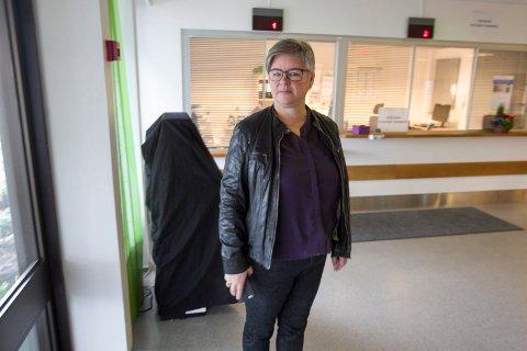 VAKTHOLD: Leder av Follo legevakt, Tove Kreppen Jørgensen, har kalt inn Securitas til å bevåkte legevaktlokalene.