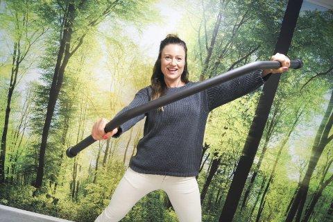 TRENINGSGRÜNDEREN: Anita Tonne fra Kolbotn, har jobbet i treningsbransjen i 12 år, har etablert selskapet H&T Trening AS.