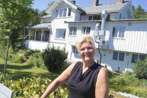 ANSIKT UTAD: Lena Garstad, fra Ski opprinnelig, er Villa Sandvigens nye restaurantsjef.