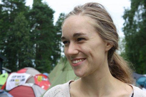 Ina Libak var tilbake på Utøya i 2015.