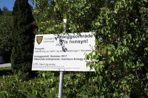 REHABILITERING: Kommunen rehabiliterer avløpsledninger mellom Greverud senter og Myrvoll stasjon.