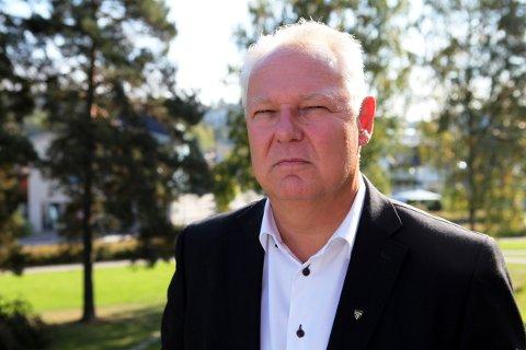 FORNØYD: Rådmann Lars Henrik Bøhler sier seg fornøyd med 2018-resultatet for Oppegård kommune.