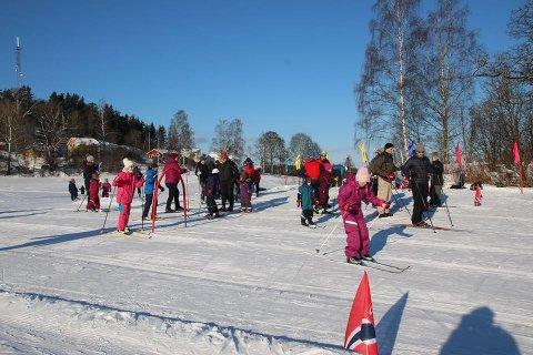 FULL RULLE: Skiforeningen Sørmarka og Skimt ski inviterer til familiedag på Rullestadjordet.