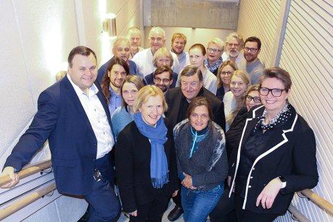 FELLES FORMANNSKAPSMØTE: For ett år siden møttes de 11 medlemmene av Ski formannskap og de ni fra Oppegård til det første, felles formannskapsmøtet. Nordre Follo formannskap får 13 representanter.