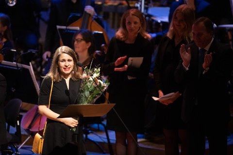 Kristin Rotskfite fikk prisen under en utdeling i Stockholm tirsdag kveld.