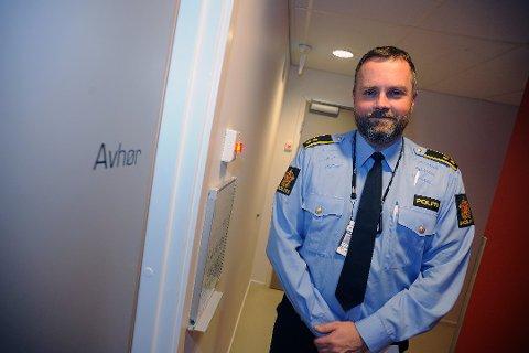 KRITISK: Leder av nærpolitiet i Follo, Marius Gunnerud er kritisk til forslaget til ny rusreform.