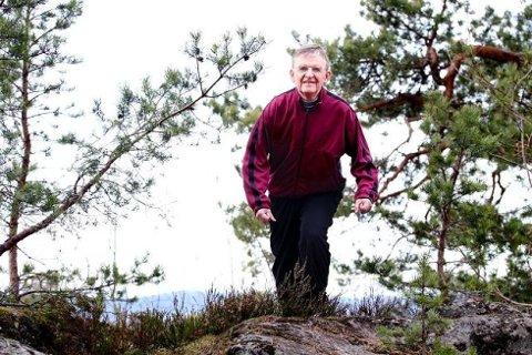 NUMMER TO: Ivar Løge fra Oppegård er fortsatt nummer to på formuestoppen i Follo.