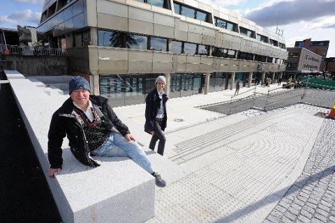 KONTORBYGG: Lars Richard Bjertnæs og Erik Johan Bjertnæs eier sentrale kontorbygg i Ski sentrum. Bjertnæs er nummer to på formueslisten i Ski.