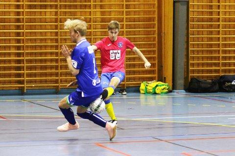 AVGJORDE: Jesper Remmem scoret kampens eneste mål mot Røa.