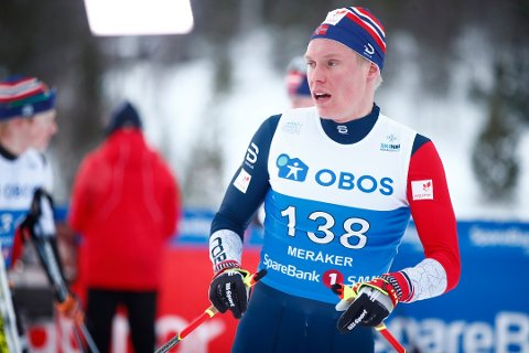 RESERVE: Martin Løwstrøm Nyenget blir hjemmeværende reserve under VM.