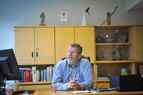 IKKE FORNØYD: Vestby-ordfører Tom Anders Ludvigsen er ikke begeistret over at Ikea nå dropper varehus i kommunen.