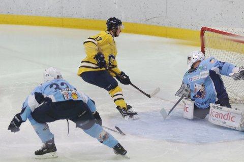 MÅLSCORER: Vegard Aspehaug er Skis poengkonge denne sesongen. Den tidligere Vålerenga-spilleren scoret også mot Haugesund.