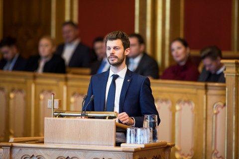 """VIL STRAFFE HØYT STRØMFORBRUK: Rødt-leder Bjørnar Moxnes foreslår en differensiert el-avgift, der man skal betale mer for """"luksus""""-strømforbruk og mindre for vanlig forbruk."""