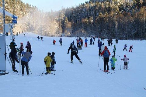 IVRIGE: Oslo-folk er de ivrigste skigåerne.