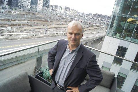 VAR SKEPTISK: Konsernsjef Geir Isaksen i NSB var skeptisk, men skiftet mening.