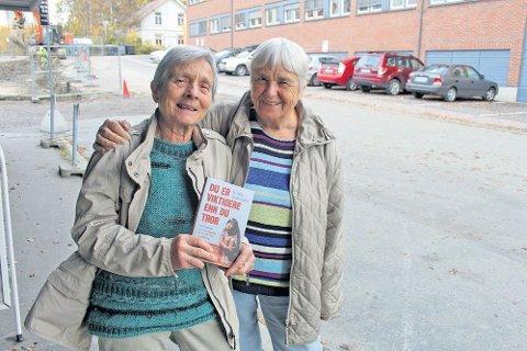 ENGASJERTE: Anna Solberg og Sigrid Goffeng.