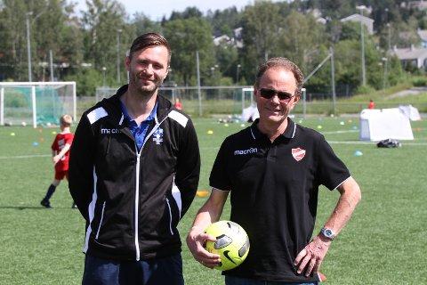 Christian Qvist Jacobsen og Follo FK har samarbeidet tett og godt med Hans Martin Larsen og Langhus IL Fotball det siste året, og nå skal samarbeidet utvides
