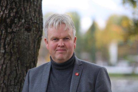 MIDT I VALGKAMPEN: Tønnes Steenersen i Frp mener en borgerlig styrt storkommune er det eneste riktig.