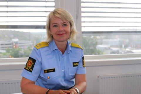 TAR OVER: Visepolitimester Ida Øystese blir konstituert som politimester i Øst politidistrikt.