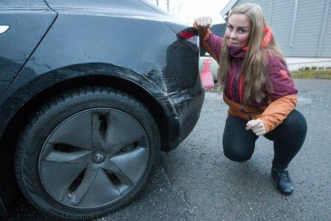 FERSKET: Gunn-Heidi Justad opplevde ingen angrende synder, da hun konfronterte sjåføren dagen etter uhellet.