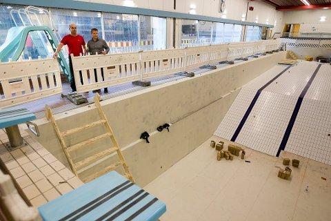 DÅRLIG STAND: Svømmehallen på Sofiemyr er i svært dårlig stand, og det er vedtatt å rive anlegget.