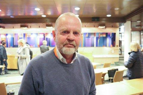 NY PÅ TOPP: Bjørn Gunnar Ganger er et kjent navn fra lokalpolitikken i gamle Oppegård. Nå er han leder i det nye, sammenslåtte, lokale naturvernforbundet.