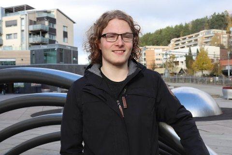NYTT PARTI: Simen Bondevik skal lede det nye partiet Unge Sentrum.