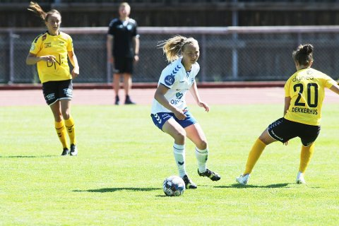 Noor Eckhoff har vært en av Kolbotns beste spillere denne sesongen, og det jobbes nå med å forlenge hennes kontrakt.