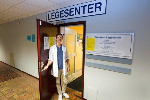 FLYTTER: Carl Fredrik Kindle-Skau tar med seg 10 kolleger og flytter til nye lokaler 1. juni 2021. Med seg inn på kjøpesenteret tar de med seg en pasientportefølje som inneholder rundt 8 000 pasienter.