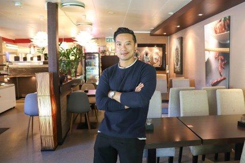 LAGER GOD MAT: Tommy Pham er viden kjent for sin gode mat i Oppegård Sushi og Wok på Oppegård. Nå trer han inn i styrelederjobben i egen restaurant.