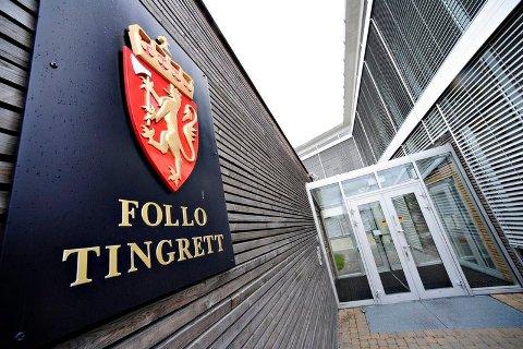 DØMT: Follo-mannen møtte i retten for å svare for flere forhold. Nå er han dømt.