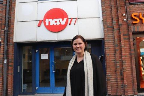 STRAKSTILTAK: - NAV Nordre Follo stenger publikumsmottaket fra i dag, opplyser virksomhetsleder Marita Kristiansen torsdag.
