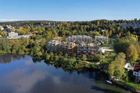 PANGSTART: Allerede første salgsdag ble 15 av 19 leiligheter i Veslebukta solgt.