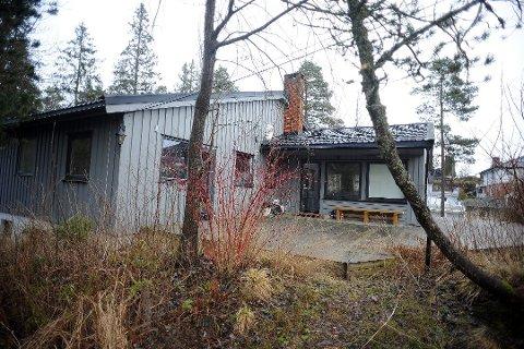 UENDRET: Prisen for denne boligen i Orreveien på Siggerud står uforandret ute til salg for 6,5 millioner kroner.