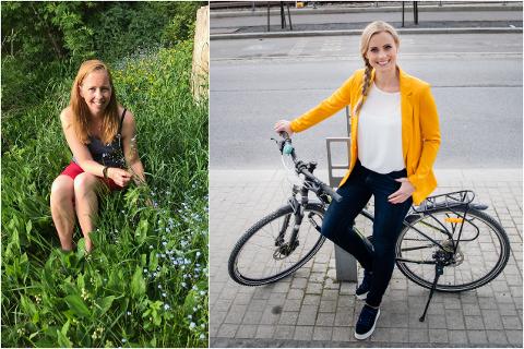 SPAR PENGER: – Vi må skru ned forventningene til ferien, mener økonomiblogger Jenny Lund (til venstre). – Koronakrisen gjør det ekstra viktig å prioritere riktig, sier forbrukerøkonom Silje Sandmæl (til høyre).