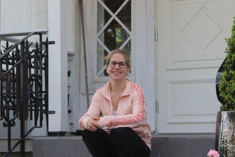 TØFT: Birgitte Øygarden fra Ski har vært gjennom en tøff periode med permittering. Det håper hun å aldri måtte oppleve igjen.