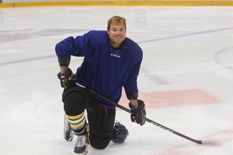 KLAR: Stian Høygård Aasen nærmer seg samme form som da han sanket NM-titler med Stavanger Oilers.
