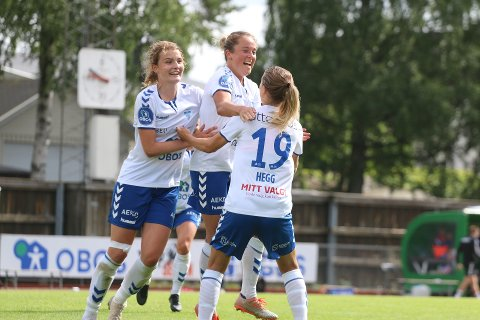REDUSERTE: Johanne Fridlund satte inn 1-2 mot Arna-Bjørnar, men spurten kom litt for sent. Bildet er fra hjemmekampen på Sofiemyr for tre uker siden.