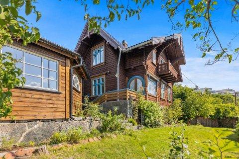 SOLGT: Denne sveitservillaen i Mosseveien ble solgt etter å ha ligget ute for salg i kun ti dager.