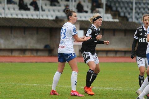 NY FULLTREFFER: Cece Kizer utliknet for Kolbotn, men måtte gå poengløs av banen på Karmøy.