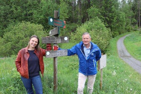 STORE PLANER: Knut Oppegaard (H) ivret for forlengelse av lysløypa allerede i 2012 da han var leder i Oppegård IL. Utvalgsleder Camilla Hille har etterlyst en statusrapport, og den kommer nå.