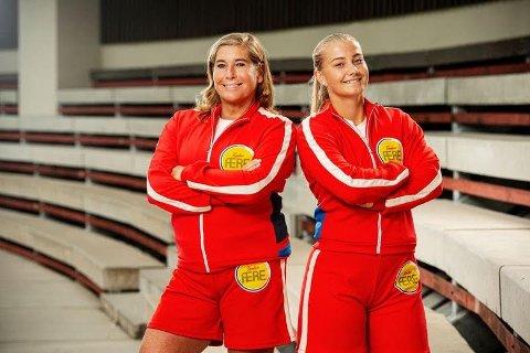TEAM HATTESTAD: Fredag er det premiere på NRK-serien Familiens ære. Trine og Julie Hattestad gønner på og har det gøy.
