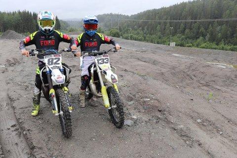 TELLER NED: Barn og unge gleder seg til motocrossbanen i Assurdalen står klar i nærmeste fremtid.
