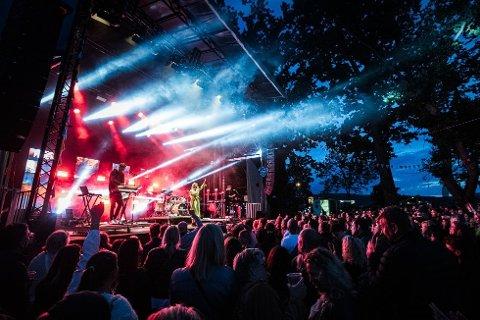 STEMNING: Her ser du et bilde fra Drøbaksfestivalen for et par år sia.
