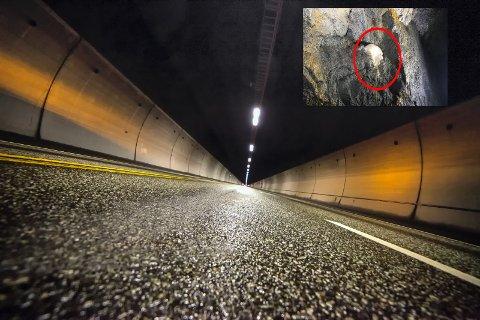 SKAL INN: Statens vegvesen snur og skal nå sjekke sprengstoffet som er funnet inne i Oslofjordtunnelen.