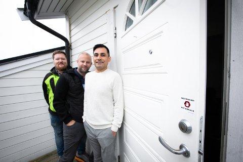 FØRST I NORGE: Mathias Nilsson, Kristoffer Normann og Rafael Vargas kom på forretningsideen etter selv å ha jobbet som førselgere i en årrekke.