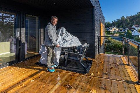 SUKSESS: Daglig leder Kåre Sekkesæter ved Bag'In AS er klar for å fortsette suksessen med firmaets egenutviklede bager til terrasse- og hagemøbler.