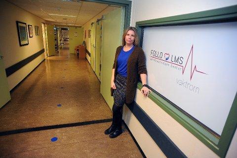 TESTER: Virksomhetsleder Marita Kolstrøm ved Follo medisinske forteller at alt fortsetter som før på legevakten etter ett smittetilfelle i helgen.