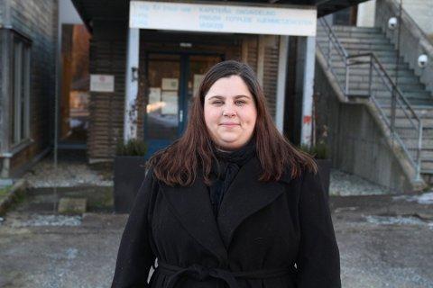 SNART NORMALT IGJEN: Virksomhetsleder ved Langhus bo- og servicesenter Nina Kolberg Nikolaysen håper at sykehjemmet snart er tilbake i normal drift. Hun tror beboerne trenger sine nærmeste nå.